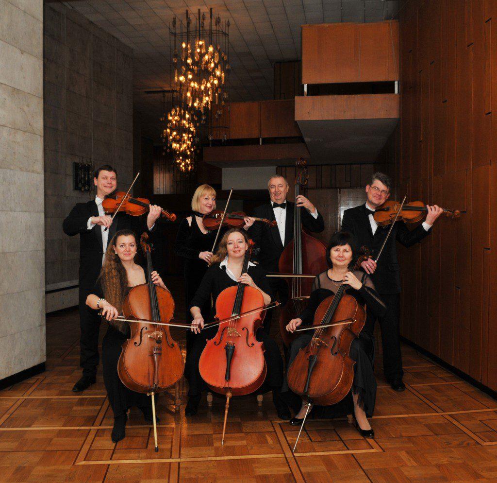 Группа альтов и виолончелей